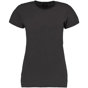 Textil Mulher T-Shirt mangas curtas Kustom Kit Superwash Marl cinzento escuro