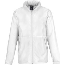Textil Homem Casaco polar B And C JM825 Branco/ Branco