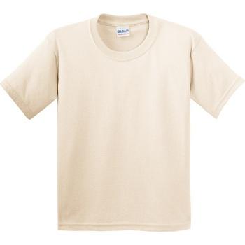 Textil Criança T-Shirt mangas curtas Gildan 5000B Natural