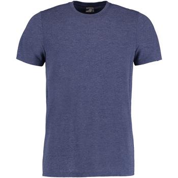 Textil Homem T-Shirt mangas curtas Kustom Kit KK504 Denim Marl
