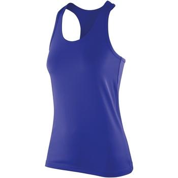 Textil Mulher Tops sem mangas Spiro SR281F Safira