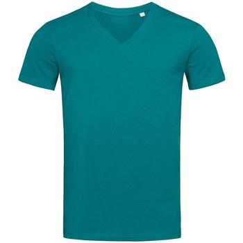 Textil Homem T-Shirt mangas curtas Stedman Stars  Azul Pacífico