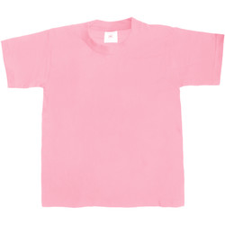 Textil Criança T-Shirt mangas curtas B And C TK301 Rosa dos anos sessenta