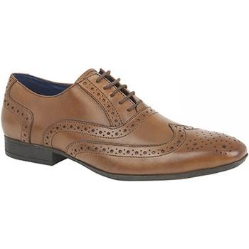 Sapatos Homem Richelieu Route 21  Tan