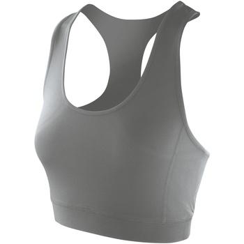 Textil Mulher Tops sem mangas Spiro S282F Cinza Nublado