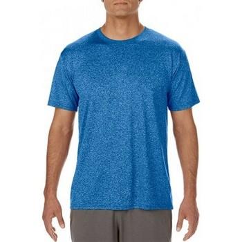 Textil Homem T-Shirt mangas curtas Gildan Performance Heather Sport Royal
