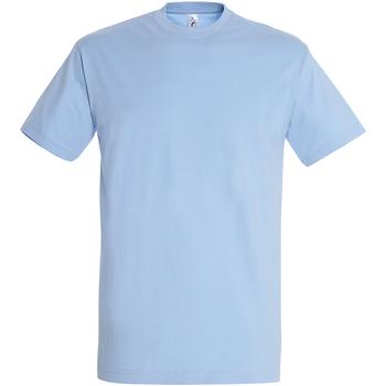 Textil Homem T-Shirt mangas curtas Sols 11500 Azul Céu