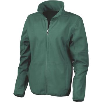 Textil Mulher Casacos fato de treino Result R131F Verde Floresta