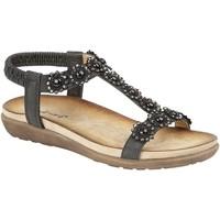 Sapatos Mulher Sandálias Cipriata Giovanna Preto