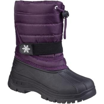 Sapatos Criança Botas de neve Cotswold Icicle Púrpura