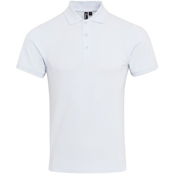 Textil Homem Polos mangas curta Premier PR630 Branco