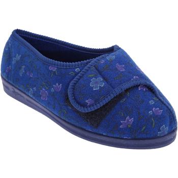 Sapatos Mulher Chinelos Comfylux  Azul-marinho