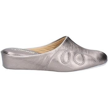 Sapatos Mulher Chinelos Cincasa Menorca MAHON SLIPPER Estanho