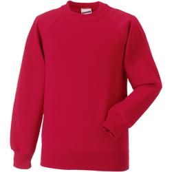 Textil Criança Sweats Jerzees Schoolgear 7620B Vermelho clássico