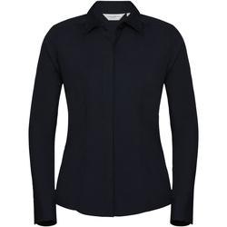 Textil Mulher camisas Russell 924F marinha francesa