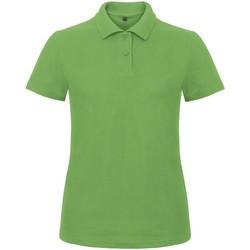 Textil Mulher Polos mangas curta B And C ID.001 Verdadeiro Verde