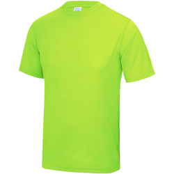 Textil Criança T-Shirt mangas curtas Awdis JC01J Verde elétrico