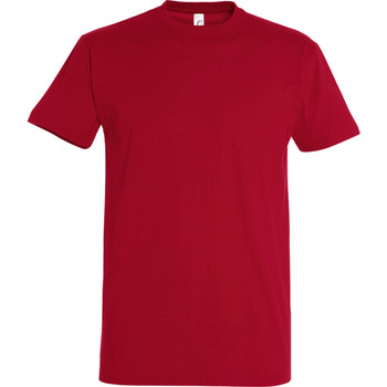 Textil Homem T-Shirt mangas curtas Sols 11500 Chilli Red