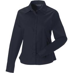 Textil Mulher camisas Russell J916F marinha francesa