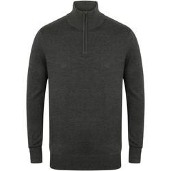 Textil Homem camisolas Henbury HB729 Grey Marl