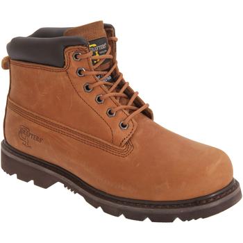 Sapatos Homem Botas baixas Grafters  Marrom claro