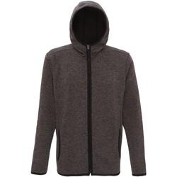 Textil Homem Casaco polar Tridri TR071 Carvão Vegetal/Pulga Negra