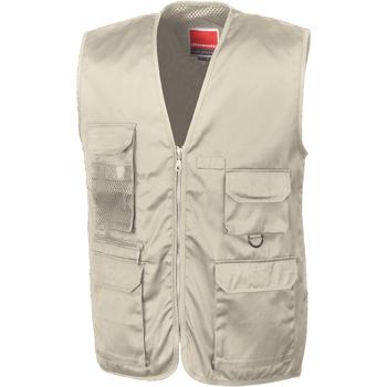 Textil Homem Casacos de malha Result R45X Camelo