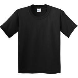 Textil Criança T-Shirt mangas curtas Gildan 64000B Preto