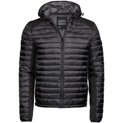 Textil Homem Quispos Tee Jays TJ9610 Jet Black/Black Melange