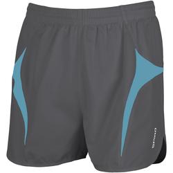 Textil Homem Shorts / Bermudas Spiro S183X Cinza/Aqua