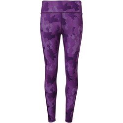 Textil Mulher Collants Tridri TR032 Camo Purpura