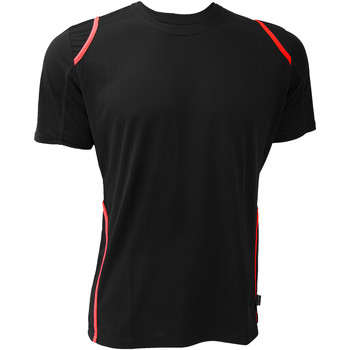 Textil Homem T-Shirt mangas curtas Gamegear Cooltex Preto/Vermelho