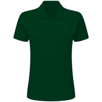 Textil Mulher Polos mangas curta Sg SG50F Garrafa Verde