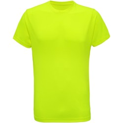 Textil Homem T-Shirt mangas curtas Tridri TR010 Amarelo relâmpago