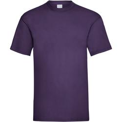 Textil Homem T-Shirt mangas curtas Universal Textiles 61036 Uva