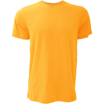 Textil Homem T-Shirt mangas curtas Bella + Canvas CA3001 Amarelo