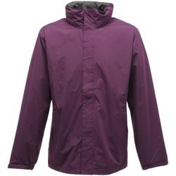 Textil Homem Corta vento Regatta TRW461 Majestic Purple/Seal Grey