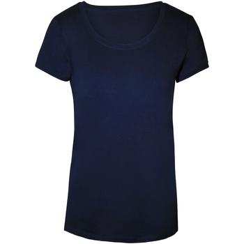 Textil Mulher T-Shirt mangas curtas Stedman Stars  Marina Blue