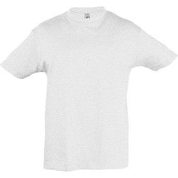 Textil Criança T-Shirt mangas curtas Sols 11970 Cinzas