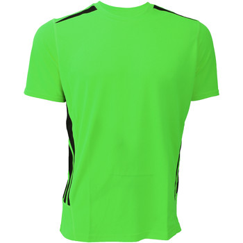 Textil Homem T-Shirt mangas curtas Gamegear KK930 Cal fluorescente/preto