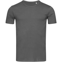 Textil Homem T-Shirt mangas curtas Stedman Stars Morgan Slate Grey