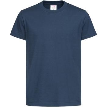 Textil Criança T-Shirt mangas curtas Stedman  Marinha