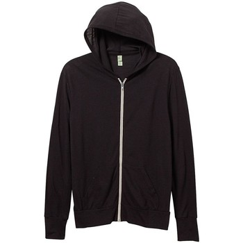 Textil Homem Sweats Alternative Apparel AT002 Eco Verdadeiro Negro