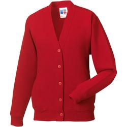 Textil Criança Casacos de malha Jerzees Schoolgear 273B Vermelho clássico