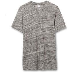 Textil Homem T-Shirt mangas curtas Alternative Apparel AT001 Cinza Urbana
