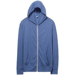 Textil Homem Sweats Alternative Apparel AT002 Eco Pacífico Azul