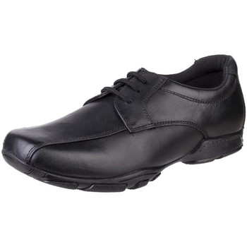 Sapatos Rapaz Sapatos Hush puppies Vincente Preto