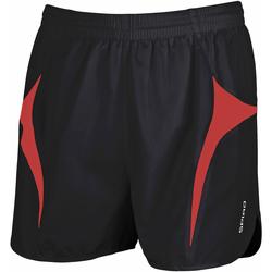 Textil Homem Shorts / Bermudas Spiro S183X Preto/Vermelho