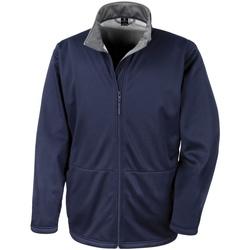 Textil Homem Corta vento Result R209M Azul-marinho
