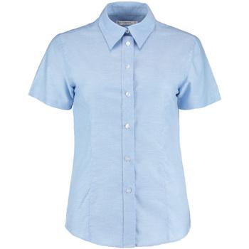 Textil Mulher camisas Kustom Kit KK360 Azul claro